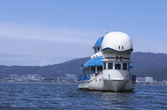諏訪湖遊覧船、竜宮丸