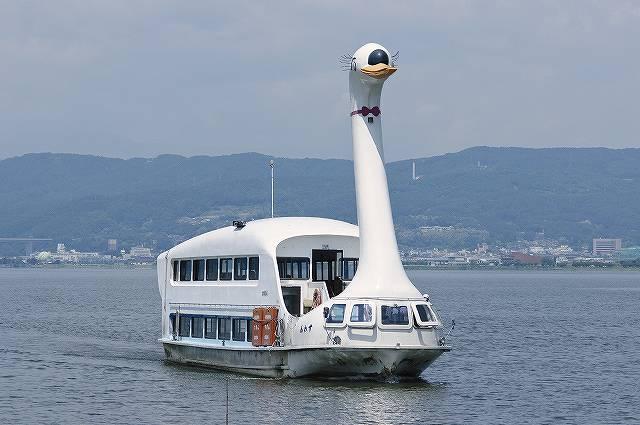 諏訪湖遊覧船、すわん