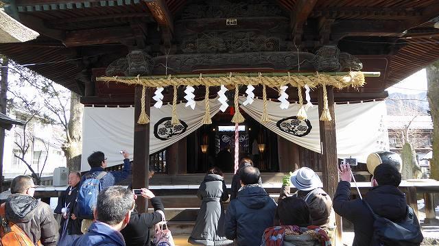 八劔神社で拝観報告