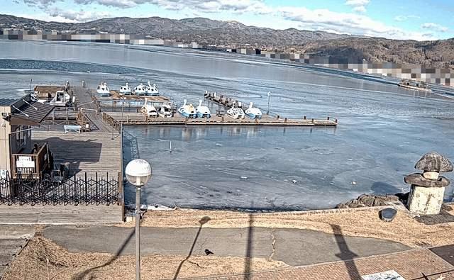諏訪湖の今日の天気